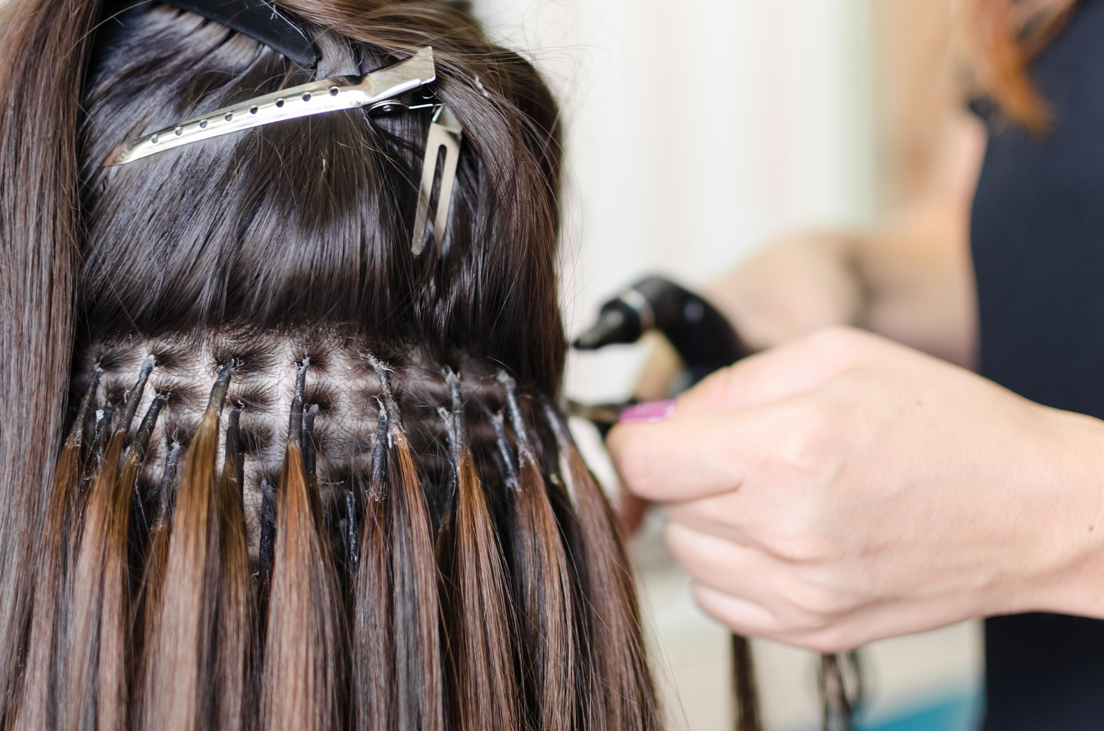наращивание волос пошагово фото существуют виды этого